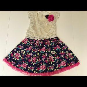 Girls rule girls dress -5